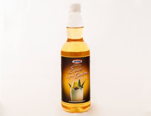 Coffee Syrup Vanilla flavoured